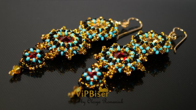 bead duster fringe long made images earrings measuring pinterest about stunning on seed nine pattirabbit with best shoulder beading strand