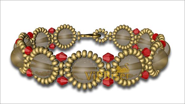 Exquisite Beaded Bracelet